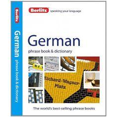 GERMAN PHRASE BOOK & DICTIONARY. Libro de bolsillo, para aprender y practicar frases cortas y útiles en Alemán