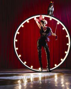 """Bunny Show"": Playboy Bunnies by Bo Lee for Vogue Korea-DG Circus City, Night Circus, Circus Theme, Circus Circus, Arte Punch, Circus Show, Halloween Circus, Dark Circus, Pierrot"