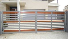 contemporary aluminium gates - Google Search