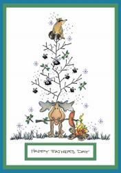 Father's Day Tree For All Seasons Card
