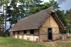 Anglo-saxon buildings. | A H Gray