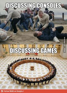 Gaming logic. Lol. But it is very very true.