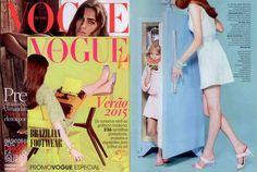 Vestido Marui Akamine é destaque na revista Vogue