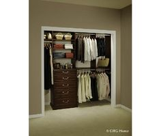 Reach In Closet Home And Garden Design Ideas