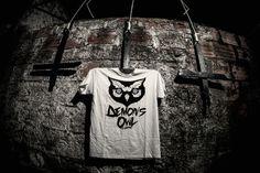 Image of 'Demon's Owl Logo' White T-Shirt