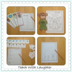 Teach With Laughter: Corduroy Bear Booktivities