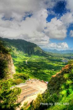 Oahu-Pali Lookout Site