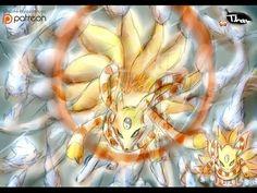 [Speedpaint]#36 - Semana do Ovo #10 - Kyubimon