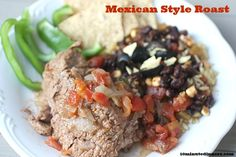 Mexican Style Pot Roast - such a great twist on the traditional roast - www.10minutedinners.com