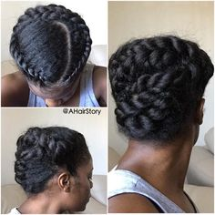 Stunning #naturalhair #protectivestyle Loved By NenoNatural! #naturalhairstyles…
