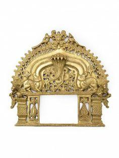 Prabhavali Brass Wall Hanging