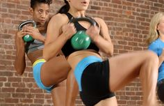 Kick up your routine a notch with Kettlebell Kickboxing.