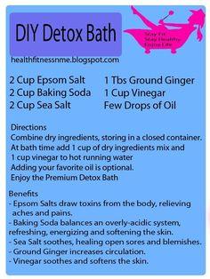 Detox Bath!