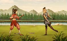 Avatar Aang, Avatar The Last Airbender, Tai Lee, Avatar Series, Team Avatar, Cartoon Tv Shows, Azula, Fire Nation, Movie Songs