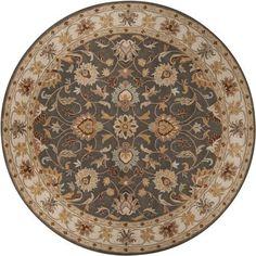 Artistic Weavers John 1005 8' Round, Beige & Tan