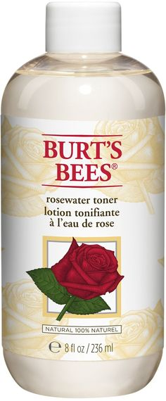 Burt's Bees Rosewater Toner-- i am utterly obsessed with rose water. i use it everyday to revitalize my skin and mine is just a mild spray. i would LOVE this toner !