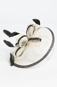 I'm bringing the easter bonnet back    Badgley Mischka Fascinator available at Nordstrom