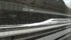 Un tren japonés bate el récord mundial al superar los 600 km/h