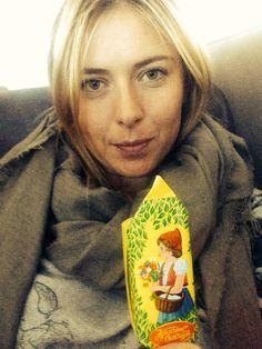 Maria's Twitter: Random craving....yummy Russian chocolate goodies #guiltypleasure