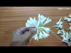 Easy to tie Sampangi Garland - DIY - Beginners - YouTube