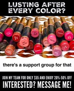 Love Lipsense? Send me an email lip.addiction.enabler@gmail.com if you have any questions or would like to order. I'd love to hear from you! If you'd like to join my Facebook group, search Lip Addiction Enabler - Jen Knepper.  If you'd like to join my team, join my group and I will hook you up!
