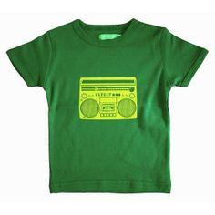 Lily-Balou t-shirt Louis Stereo groen