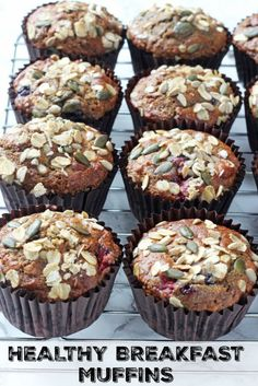 Healthy Meals For Kids Delicious and filling Berry Breakfast Muffins packed full of healthy ingredients including oats, yogurt, coconut oil, banana and apple sauce. Quinoa Breakfast Bars, Healthy Breakfast Muffins, Best Breakfast, Breakfast Ideas, Brunch Ideas, Breakfast Club, Breakfast Recipes, Fussy Eaters, Picky Eaters