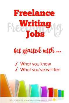 Freelance Writing Projects for beginners: where to start with Word Wise at Nonprofit Copywriter Job Freelance, Freelance Sites, Freelance Writing Jobs, Fiction Writing, In Writing, Writing Tips, Creative Writing Jobs, Making Words, Copywriter