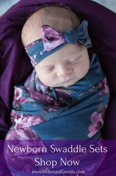 Our adorable swaddle sets are the perfect for any new Mama. Each set comes with a blanket and matching headband or hat that will fit a newborn to a 3 month old baby. Baby Swaddle, Swaddle Blanket, Little Doll, Everything Baby, Baby Sewing, Baby Pictures, Baby Photos, Baby Fever, Baby Items