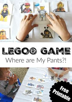LEGO Game Where are My Pants? - Powerful Mothering More