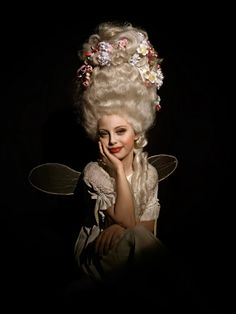 Children's Dreams by Andreas Nestl à la Marie Antoinette Julie Klein Board Marie Antoinette, Rococo Fashion, 18th Century Fashion, Rococo Style, Big Hair, Traditional Art, Wearable Art, Lady, Fashion Photography