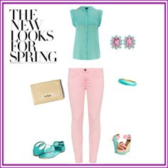 looks, created by luzmliriano on Polyvore