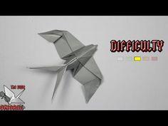 [ORIGAMI TUTORIAL] Swallow (Mindaugas Cesnavicius) || Animals - YouTube