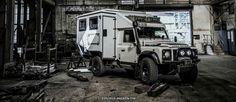 Land Rover Defender 110 caravan. Nice