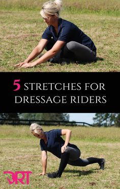 5 stretches for dressage riders.