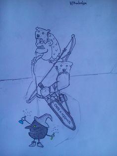 kılıcını büyüledim :D güç ve bilgelik  he's name is groos
