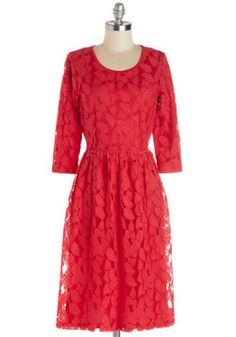 Frond the Ball Dress, #ModCloth I LOVE THIS ONE!! Would this work for WF???