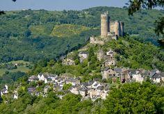 #Najac : une #forteresse dominant l'#Aveyron