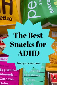 These healthy snacks are perfect for picky ADHD kids who need protein and lots of good nutrients. Adhd Odd, Adhd And Autism, Adhd Help, Adhd Diet, Adhd Strategies, Adult Adhd, Kids Diet, Healthy Recipes, Autism