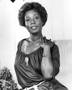 Actress Madge Sinclair, veteran character actress.