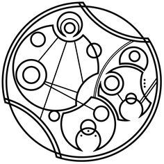 Don't Forget to be Awesome in Circular Gallifreyan.