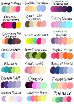 Best 12 Put a Character + a Color Palette in My Ask Box and I'll Draw It!Now that I've finished off the old challenge, it's time for Palette Challenge Electric Boogaloo. Now with almost twice the palette selection! Same as last time, send me fun… Palette Art, Colour Pallette, Colour Schemes, Color Combos, Color Trends, Palette Hair Color, Best Color Combinations, Color Combinations For Clothes, Color Blocking Outfits