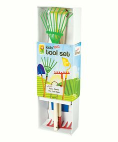 Take a look at this Garden Tool Set on zulily today! ($18 normally $30, maybe Easter present)