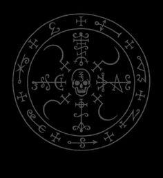 "Ceremonial Magick:  ""Veni Qayin Messor, Mortifer et Occisor!  Veni, veni Letifer, Dominor Tumulus et Falxifer!  Veni, veni Qayin Coronatus! Veni, veni Qayin Rex Mortis!  Veni Baaltzelmoth et Niantiel!  Veni Qayin ben Samael!""  ---Liber Falxifer: The Book of the Left-Handed Reaper. #Ceremonial #Magick."