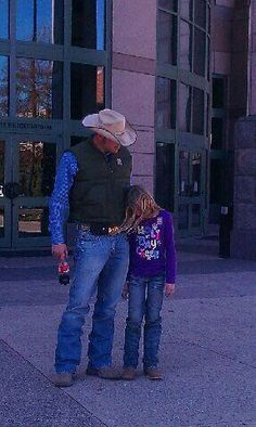 Cowboys are tender when it comes to their daughters.