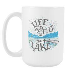 Cheap Tvs, Large Coffee Mugs, Lake Life, Gifts For Wife, Best Tv, Finding Yourself, Big Coffee Mugs, Tall Coffee Mugs