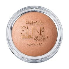 Sun Glow Mineral Bronzing Powder 010   CATRICE COSMETICS ❤ liked on Polyvore featuring beauty products, makeup, cheek makeup and cheek bronzer
