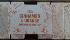 Cinnamon And Orange Boxed Soap 3 x Newport Isle Of Wight, Paper Shopping Bag, Bath And Body, Cinnamon, Soap, Orange, Handmade, Canela, Hand Made
