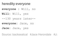Ancestors The Mortal Instruments Tmi tda tid twp tlh cassie cassandra clare mortal instruments CoB CoA CoG CoFA CoLS CoHF jem carstairs lary fray jace herondale will herondle the herondale boys