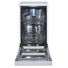 White Knight 10 Place Slimline Freestanding Dishwasher- White - A++ Energy Efficiency 10 Place Settings 6 Wash Programmes Diet Recipes, Cooking Recipes, Healthy Recipes, Slimline Dishwasher, No Cook Meals, Healthy Cooking, Kitchen Design, Kitchen Appliances, Dishwashers